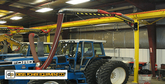 Fume A Vent Case Studies Vehicle Exhaust Removal Systems