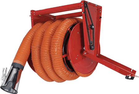 Exhaust Hose Reels Motor Operated Hrm 3 0420 Fume A Vent