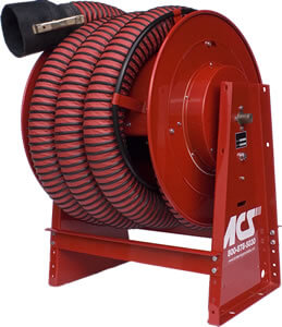 Hose reel for 2 hose
