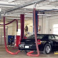 Vehicle Exhaust Extraction Amp Removal Systems Fume A Vent