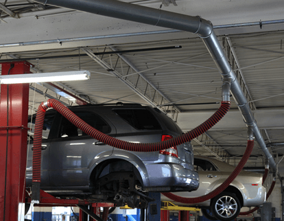 Auto Dealership Exhaust Removal Fume A Vent