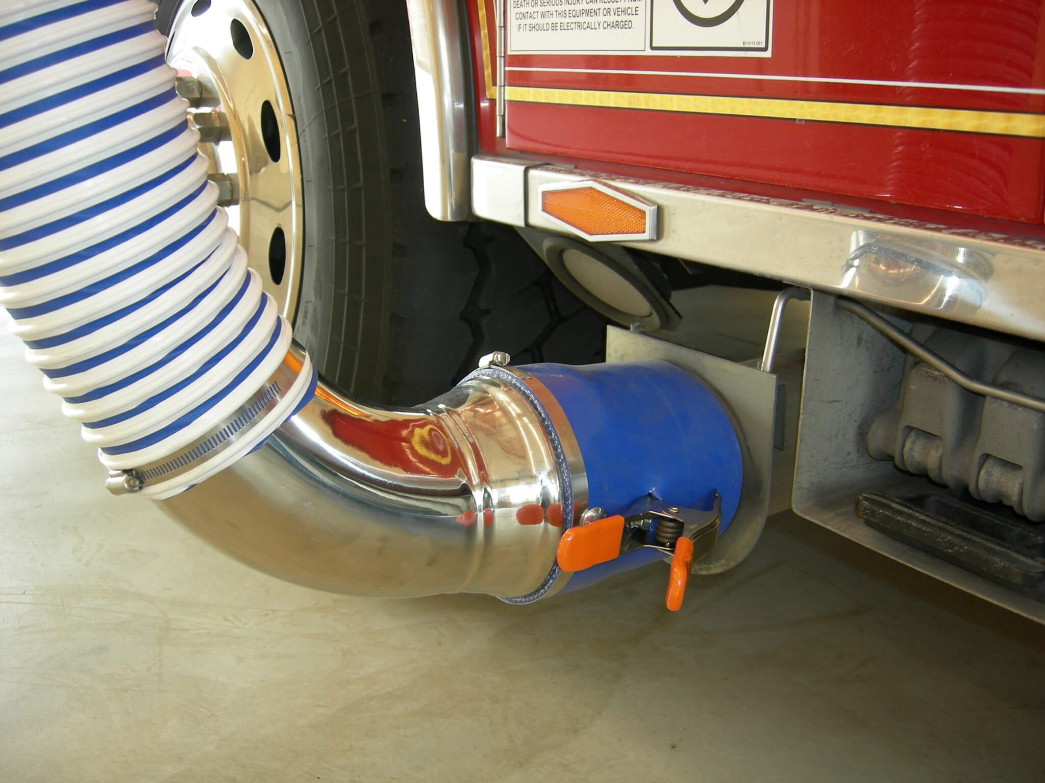 crushproof system hose tubing garage brochure exhaust industrial lightscope hoses telescoping